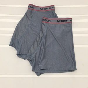2 Pairs of Under Armour Boxer Briefs XL